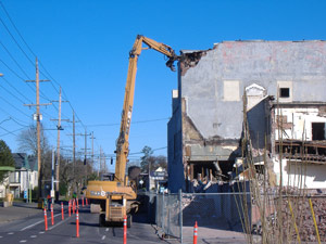 Demolition in Toronto