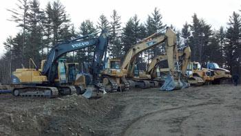 Excavation in Toronto